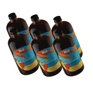 Barbados | Grapefruit & Orange Organic Coffee Sparkling Tonic | 6 Bottles from Good Koffee in Non-Alcoholic , Drinks