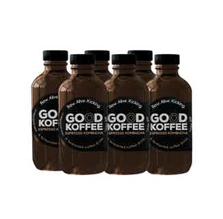 Espresso Kombucha | Organic Coffee | 200ml | 3, 6 or 12 Bottles from Good Koffee in Coffee, Drinks