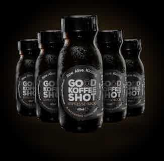 Espresso Kick | Organic Coffee Shots | 60ml | 5 or 10 Bottles from Good Koffee in Coffee, Drinks