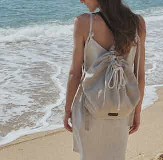 Linen Backpack Rene from Cosiol in Women's Sustainable Clothing,