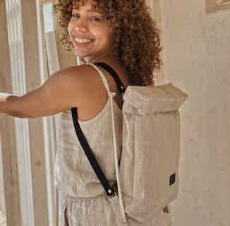 """Linen Backpack Bea Macbook 13"""" from Cosiol in Women's Sustainable Clothing,"""