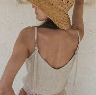 Linen Tank Top Playa from Cosiol in Women's Sustainable Clothing,