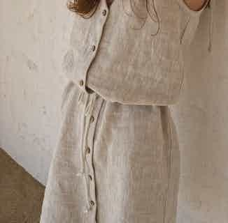 Linen Dress Playa from Cosiol in Women's Sustainable Clothing,