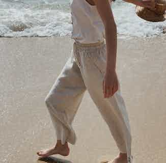 Linen Pants Playa from Cosiol in Women's Sustainable Clothing,
