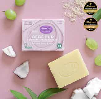 Bebe Pur Cleanser Bar for Baby and Mother - 80g from Balade en Provence in Bathing & Changing, Sustainable Children's Clothing
