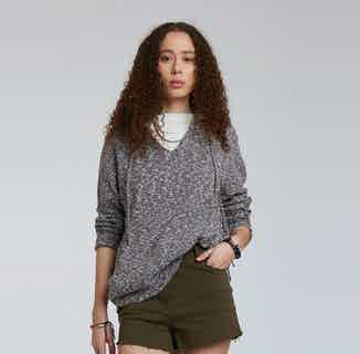 High | GOTS Organic Cotton Women's Hoodie | Dark Grey Slate from Komodo in Hoodies, Tops