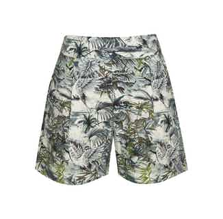 Muni | Organic Linen Women's Short | Bali-Green from Komodo in Women's Sustainable Clothing,