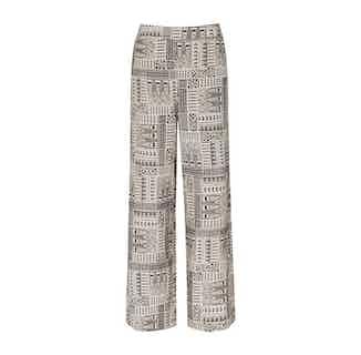 Roar | Organic Cotton Women's Trousers | Grey Tapa Coal from Komodo in Women's Sustainable Clothing,