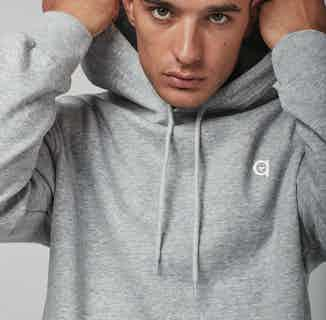 100% Organic Cotton Grey Logo Hoodie   Grey from Altid Clothing in Hoodies, Tops