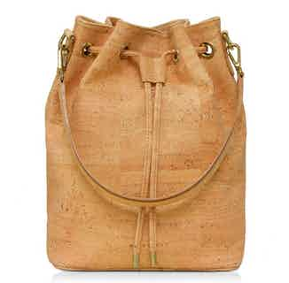Gamma | Women's cork Rucksack | Natural from Murmali in Bags, Women's Sustainable Clothing