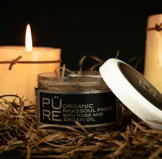 RHASSOUL PASTE DETOX MASK with Rose Otto 150ml £28 from The PÜRE Collection in Face, Skincare
