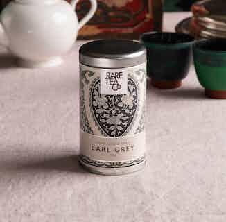 Natural Loose Leaf Tea | Rare Earl Grey | 50g Tin from Rare Tea Company in Tea, Drinks