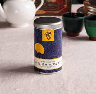 Natural Loose Leaf Tea | Sikkim Second Flush Muscatel Black | 50g Tin from Rare Tea Company in Tea, Drinks