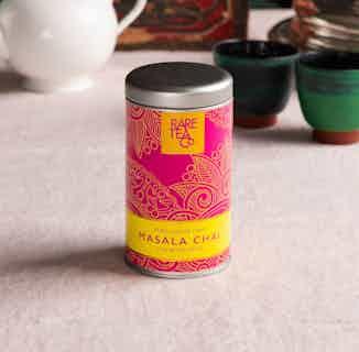Natural Loose Leaf Tea | Rare Masala Chai | 50g Tin from Rare Tea Company in Tea, Drinks