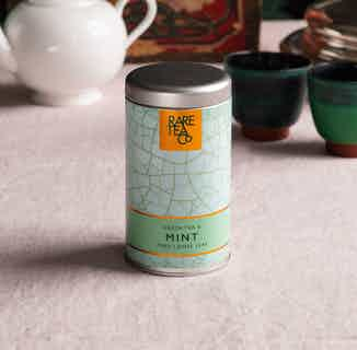 Natural Loose Leaf Tea | Green & Mint | 25g Tin from Rare Tea Company in Tea, Drinks