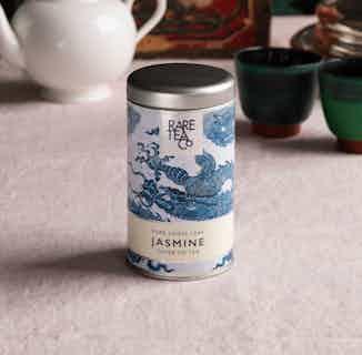 Natural Loose Leaf Tea | Jasmine & Silver Tip | 25g Tin from Rare Tea Company in Tea, Drinks