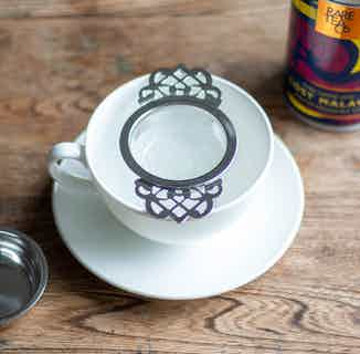 Sustainable Rare Loose Leaf Tea Overcup Strainer   Silver or Gold from Rare Tea Company in Tea, Drinks