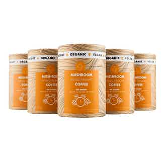 Go Sharp Bundle | Lion's Mane & Chanterelle Multipack | 1 Tube + 40 Sachets from Mushroom Cups in Coffee, Drinks