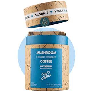 Go Tireless Bundle | Cordyceps & Chanterelle Multipack | 1 Tube & 40 Sachets from Mushroom Cups in Coffee, Drinks