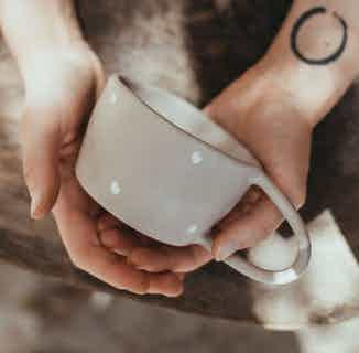 Hand-made Ceramic Coffee Cup | 250ml from Mushroom Cups in Coffee, Drinks