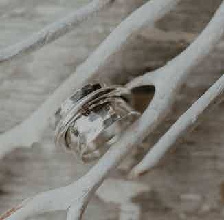 Rio | Ethically Sourced Sterling Silver Spin Ring from Hobo and Hatch in Jewellery, Women's Sustainable Clothing