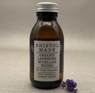 Organic Cleansing Micellar Water   Lavender   100ml from BristolMade in Face, Skincare
