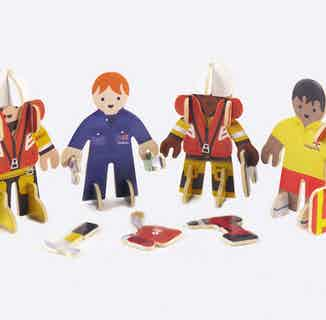 RNLI People   Eco-Friendly Children's Building Playset   Ages 4-10 from Playpress Toys in Toys & Games, Sustainable Homeware & Leisure