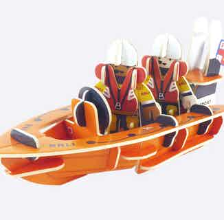 RNLI Lifeboat   Eco-Friendly Children's Building Playset   Ages 4-10 from Playpress Toys in Toys & Games, Sustainable Homeware & Leisure
