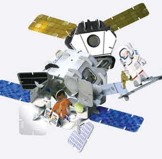Space   Eco-Friendly Children's Building Playset   Ages 4-10 from Playpress Toys in Toys & Games, Sustainable Homeware & Leisure