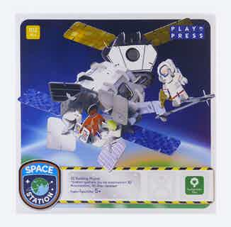 Space Station   Eco-Friendly Children's Building Playset   Ages 4-10 from Playpress Toys in Toys & Games, Sustainable Homeware & Leisure