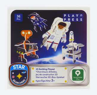 Astronaut & Robots   Eco-Friendly Children's Building Playset   Ages 4-10 from Playpress Toys in Toys & Games, Sustainable Homeware & Leisure