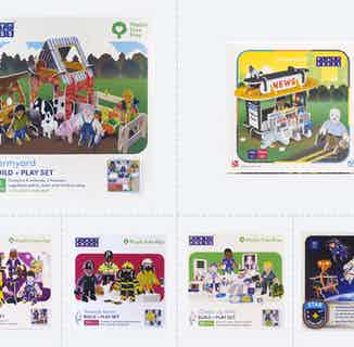 Village   Eco-Friendly Children's Building Playset   Ages 4-10 from Playpress Toys in Toys & Games, Sustainable Homeware & Leisure