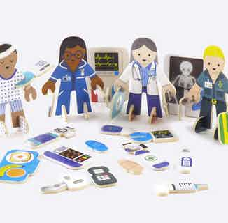 Check-Up Time   Eco-Friendly Children's Building Playset   Ages 4-10 from Playpress Toys in Toys & Games, Sustainable Children's Clothing