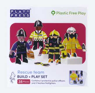 Rescue Team   Eco-Friendly Children's Building Playset   Ages 4-10 from Playpress Toys in Toys & Games, Sustainable Children's Clothing