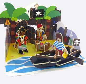 Pirate Island   Eco-Friendly Children's Building Playset   Ages 4-10 from Playpress Toys in Toys & Games, Sustainable Children's Clothing