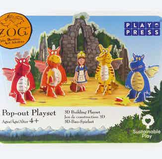 Zog Pop-Out   Eco-Friendly Children's Building Playset   Ages 4-10 from Playpress Toys in Toys & Games, Sustainable Children's Clothing