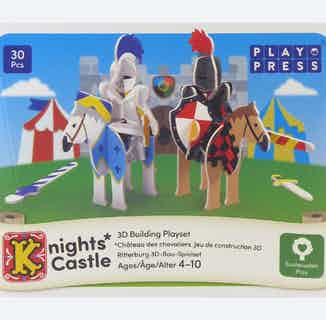 Knights Castle   Eco-Friendly Children's Building Playset   Ages 4-10 from Playpress Toys in Toys & Games, Sustainable Children's Clothing