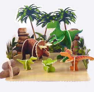 Dinosaur Roar Pop-Out   Eco-Friendly Children's Building Playset   Ages 4-10 from Playpress Toys in Toys & Games, Sustainable Children's Clothing