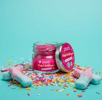 Vegan Exfoliating Lip Scrub   Blissful Bubblegum   28g from Pura Cosmetics in Lips, Skincare