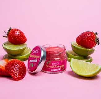 Vegan Exfoliating Lip Scrub   Strawberry Daiquiri   28g from Pura Cosmetics in Lips, Skincare
