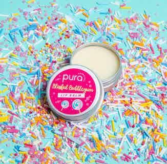 Vegan Revitalising Lip Balm   Blissful Bubblegum   28g from Pura Cosmetics in Lips, Skincare
