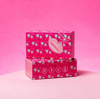 Vegan & Recyclable Lip Scrub & Balm Duo Gift Set   Blissful Bubblegum from Pura Cosmetics in Gift Sets, Sustainable Beauty & Health