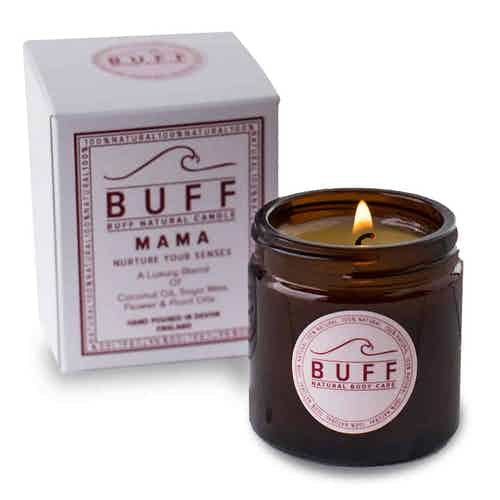 MAMA Nurture and Comfort Vegan Natural Candle from Buff Natural Body Care in Lighting & Candles, Homeware