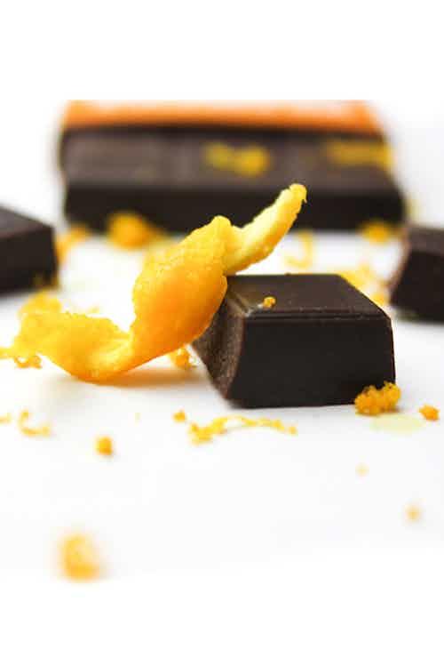 EUPHORIC ORANGE - Organic Orange Chocolate -  35g from Mr Popple's Chocolate in Bars, Chocolate
