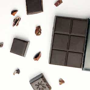PURE PERUVIAN - 100% Criolla Cacao Raw Chocolate Bar - 35g from Mr Popple's Chocolate in Bars, Chocolate