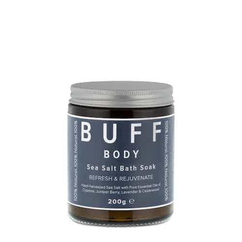 BODY Refresh and Rejuvenate Sea Salt Bath Soak, 200g from Buff Natural Body Care in Bath & Shower, Health & Beauty