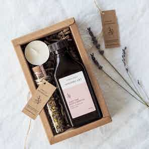 Luxury Bath + Body Oil Gift Set from Nikki Hill Apothecary in Gift Sets, Beauty