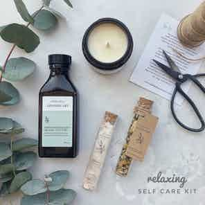 Relaxing Self Care Kit from Nikki Hill Apothecary in Gift Sets, Health & Beauty