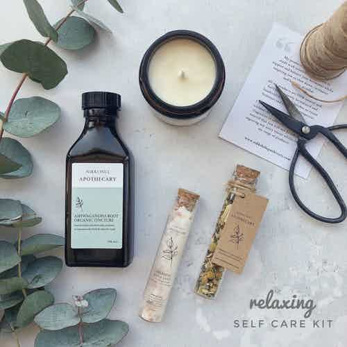 Relaxing Self Care Kit from Nikki Hill Apothecary in Gift Sets, Beauty