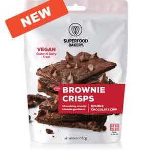 Brownie Crisps (Double Choc Chip) from Superfood Bakery in Baking, Food & Drink